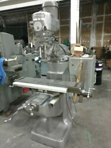 Bridgeport Vertical Milling Machine Vertical Mill