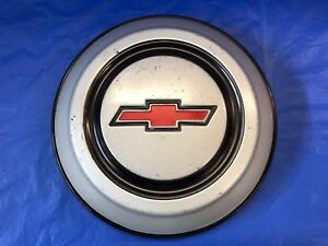 Vintage 1967 69 Chevrolet Dog Dish Hubcap Very Good Condition