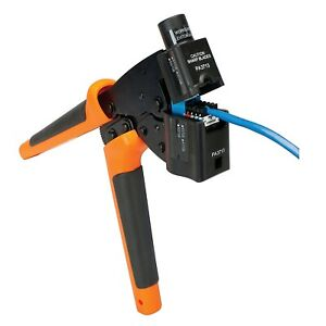 Greenlee Pa8107 Jack Terminator Crimper With Punch Down