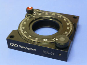 Newport Rsa 2t Rotation Stage Rotary Mount For 2 Optics