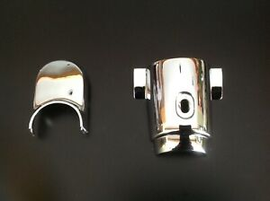 1955 56 Chevy Upper And Lower Steering Column Covers