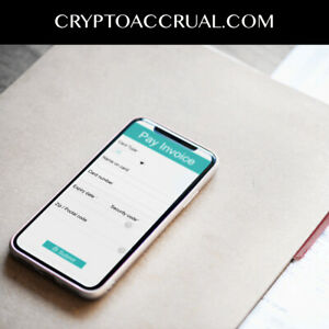 Cryptoaccrual com Crypto Domain For Sale Accounting Taxes Cpa Banking