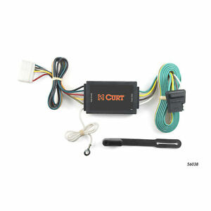 56038 Curt 4 Way Flat Trailer Wiring Connector Harness Fits Acura Mdx