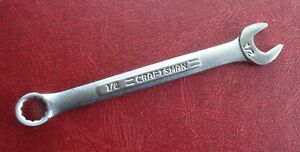 1 2 Craftsman Combination End Wrench Part Number 44695 Made In Usa