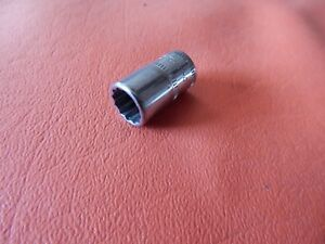 Snap On Tools 9mm Socket 1 4 Drive 12 Point Tmmd9 9 Mm