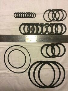 Conflat Flange Lot Of 30 Misc Viton Gaskets For 2 3 4 1 33 4 5 6 3 3 8