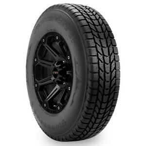 4 new Lt245 70r17 Firestone Winterforce Lt 119r E 10 Ply Bsw Tires