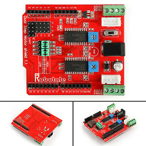 4pcs 2 way Stepper Motor Drive Expansion Board Stepper Shield For Arduino Ss