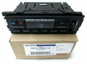 New Oem Ford Climate Control Unit 3w7z 19980 Aa Genuine Ford