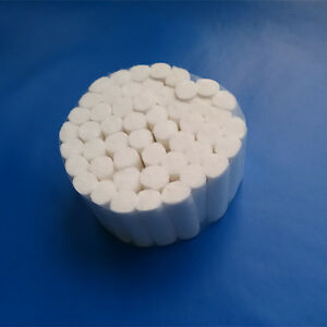50 Pcs Dental Disposable Cotton Rolls High Quality Materials White Tooth Fine