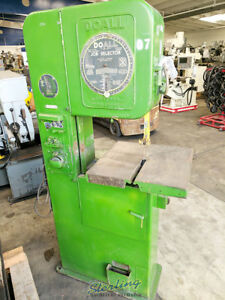 16 Used Doall Vertical Contour Bandsaw V 16 A4325