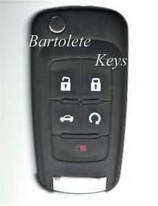 Keyless Remote Car Key Fob Fits 2009 2010 Buick Allure Canadian Version Only