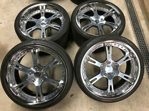 Authentic Ac Schnitzer Bmw Wheels Michelin 7 Series 745i 750i
