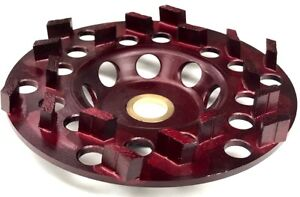 5 Diamond Cup Wheel For Coating Removal Epoxy Glues