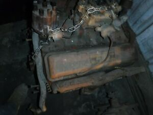 1962 Chevy 327 V8 Ac Car Vin Carburated Sbc Longblock Engine 3782870 Will Ship