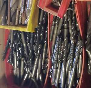 Morse Taper 2 Drill Bit Collection price Per 10 Used Re Sharpened