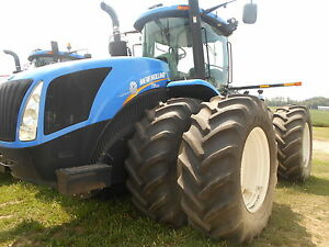New Holland T9 505 Heavy Duty Tractor Luxury Cab 171 Hours Gps
