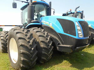 New Holland T9 505 Heavy Duty Tractor 4wd Pto Luxury Cab