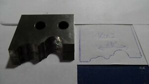 Williams And Hussey Molding Knife Cutter Blade 2 1 2 K002