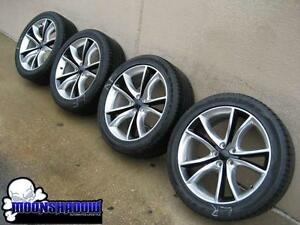 20 15 16 Dodge Charger Rt Sxt Oem Factory Polished Wheels Rims Goodyear Tires