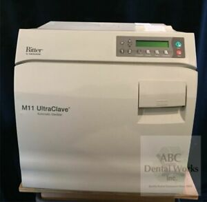 Midmark Ritter M 11 Ultraclave With Printer new Style Refurbished Sterilizer