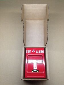 Rsg Fire Alarm Manual Pull Station Rms 1p Hex Screw Accessible Single Pole
