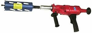 2 Speed Hand Held Core Drill Includes 2 Dry Core Bits 2 2 5