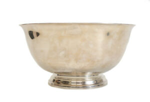 Stunning Tiffany Co Makers Sterling Silver 12 Footed Bowl 23620