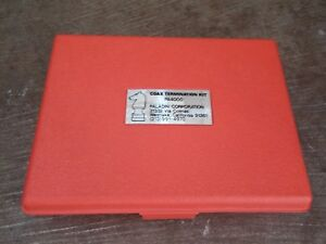 Paladin Corporation Pa4000 Professional Coax Termination Kit Vintage Rg58
