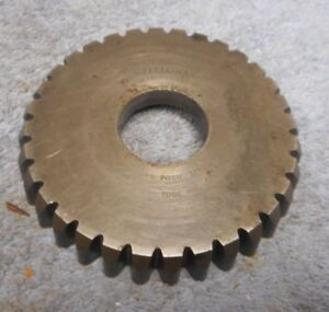 Gear Shaper Cutter Fellows 3 8 Circular Pitch Roller Chain Sprocket 4