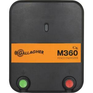 Gallagher M360 Electric Fence Charger 1 Each