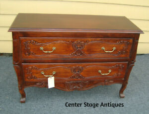 55828 French Country Cherry Bachelor Chest Dresser Server