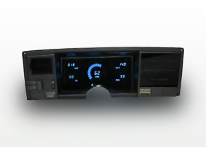 1988 1991 Chevy Truck Digital Dash Panel Blue Led Gauges Made In The Usa