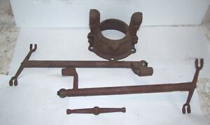 Early 1928 Ford Model A Ar Universal Housing And Brake Hinges Nice