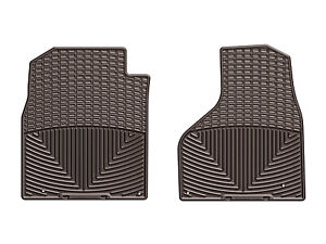 Weathertech All Weather Floor Mats For Dodge Ram Truck 2012 2018 1st Row Cocoa