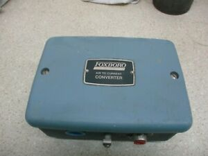 Foxboro Air To Current Converter Model E92 ffn2i Style A 225901m new