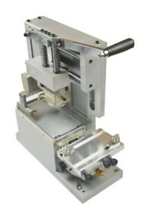 Manual Pad Printing Machine Pad Printer With Sealed Ink Cup System