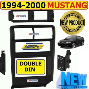 1994 2000 Ford Mustang Car Stereo Radio Double Din Installation Dash Kit Bezel