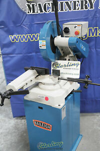 14 Used demo Machinery Baileigh Abrasive Chop Saw Mdl As 350m A5560