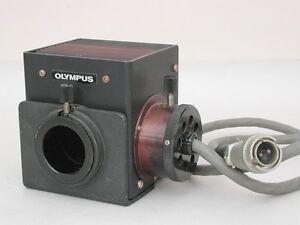 Olympus Microscope Lamp House With Connectting Cord For Bhs Bhm Bh 2 Series