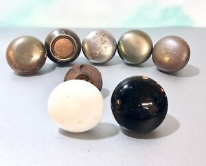 Vintage Door Knobs 7 Pc Lot Variety Mix