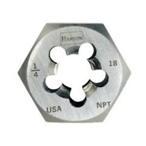 Irwin 7407 1 11 1 2 Npt Re thread Hex Die