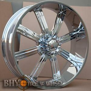 28 Dcenti 903 Chrome Wheels Rims 325 35 28 Tires 8 Lug Hummer H2 Sale 30