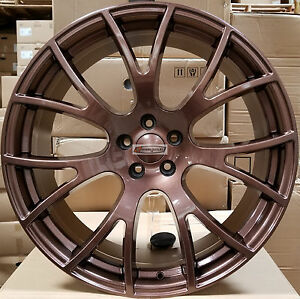 20 Hellcat Wheels Bronze Stagger Rims Tires Fits 300c Dodge Challenger Charger