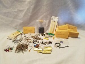 Huge Lot Of Vintage Transistors And More See Pics