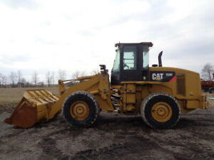 2010 Caterpillar 938h Wheel Loader Cab heat air 4 Speed 180hp 16 415 Hours
