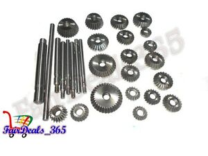 20 Pcs Valve Seat Face Cutter Set Automotive Industrial Tool Heavy Duty