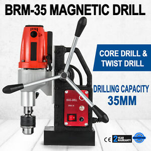 Brm35 Magnetic Drill Press Industruial Precise Spiral Drills Industrial Tools