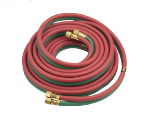 50ft Oxy acetylene Twin Welding Hose Red Green
