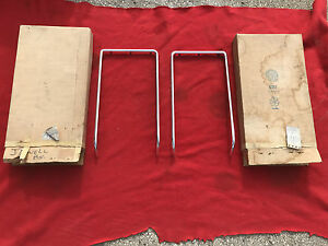 Nos 1972 Olds Cutlass F85 Grille Moldings R l 410639 410638 Nice In Gm Boxes